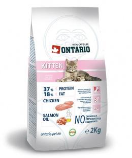 Barība kaķēniem - Ontario Kitten, 2 kg