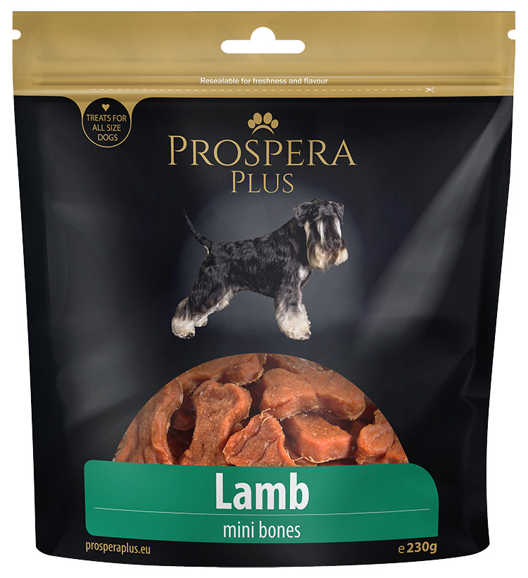 Лакомство для собак - Prospera plus Lamb mini bones /косточки из баранины, 230 gr