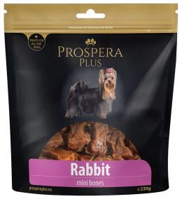 Gardums suņiem - Prospera Plus Rabbit Mini Bones, 230 g