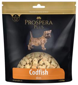 Gardums suņiem - Prospera Plus Cod Cubes, 230 g