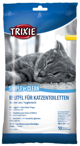 Maisiņi kaķu tualetei - Trixie Bags for Cat Litter Tray XL (59*46 cm)