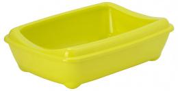 Туалет для кошек - Magic Cat Economy, желтый, 42*31*13 cm