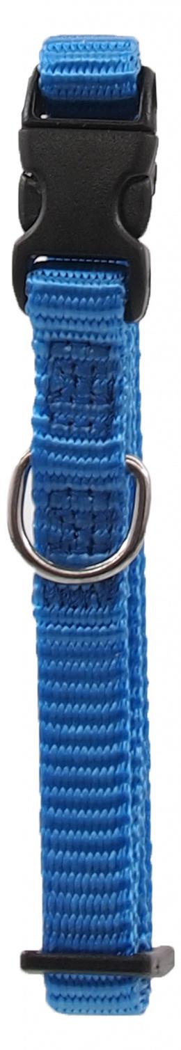 Kakla siksna - Dog Fantasy Classic Neilona XS, 1 cm, 21-30 cm, krāsa – zilā