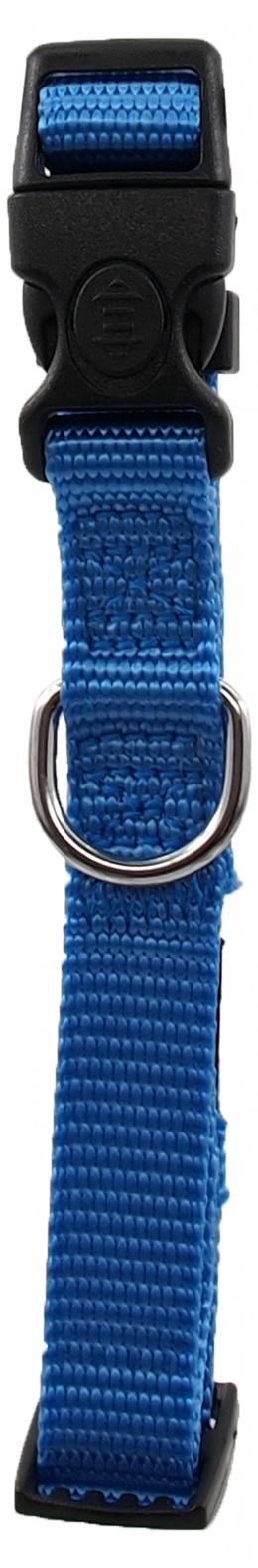 Kakla siksna - Dog Fantasy Classic Neilona S, 1.5 cm, 27-37 cm, krāsa – zilā
