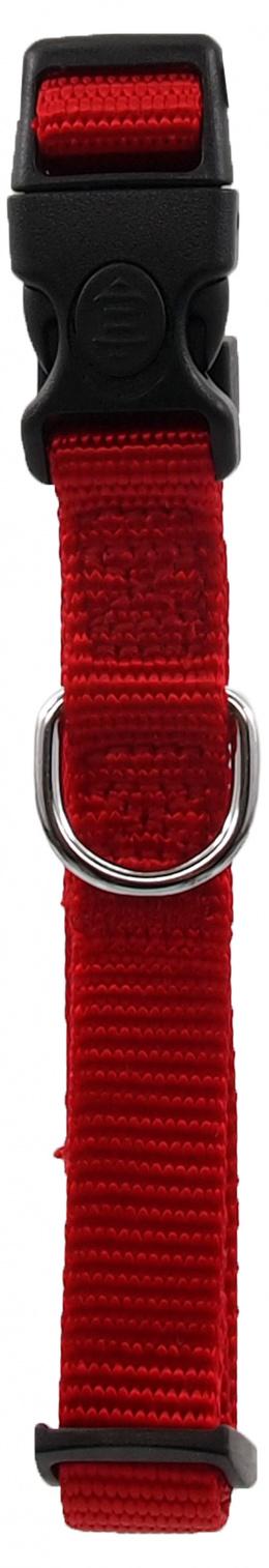 Ошейник - Dog Fantasy Classic Neilona S, 1.5 см, 27-37 см, цвет – красный