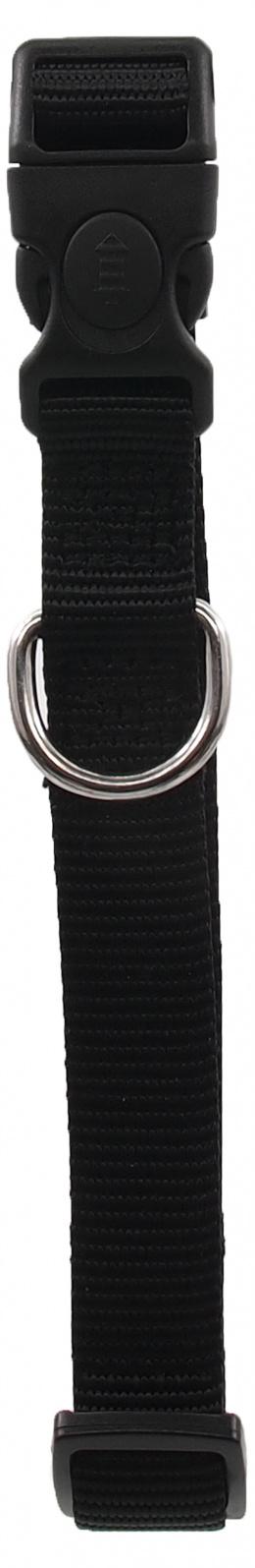 Kakla siksna - Dog Fantasy Classic M, 2cm, 34-49cm, krāsa - melna