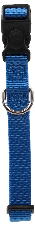 Kakla siksna - Dog Fantasy Classic Neilona M, 2cm, 34-49cm, krāsa - zilā title=