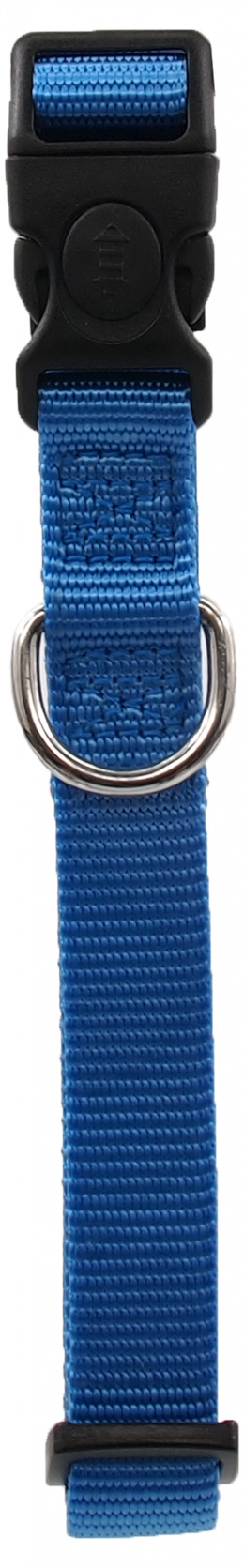 Ошейник - Dog Fantasy Classic Neilona M, 2cm, 34-49cm, цвет - синий