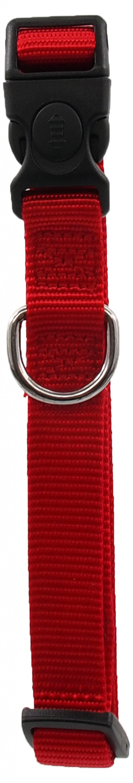 Kakla siksna - Dog Fantasy Classic Neilona M, 2cm, 34-49cm, krāsa - sarkanā