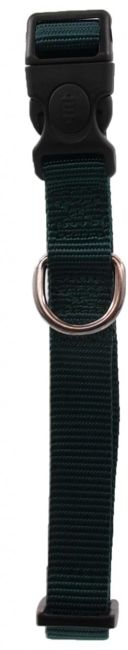 Kakla siksna - Dog Fantasy Classic Neilona M, 2cm, 34-49cm, krāsa - zaļā