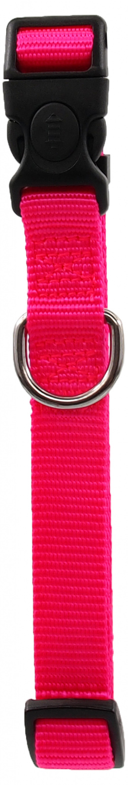 Kakla siksna - Dog Fantasy Classic Neilona M, 2cm, 34-49cm, krāsa - rozā