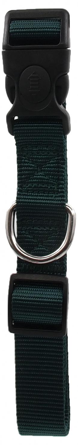 Ошейник - Dog Fantasy Classic Неилон L, 2.5cm, 45-68cm, цвет - зеленый