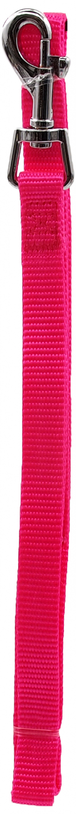 Pavada – Dog Fantasy Classic Neilona S, 15 mm, 120 cm, krāsa – rozā