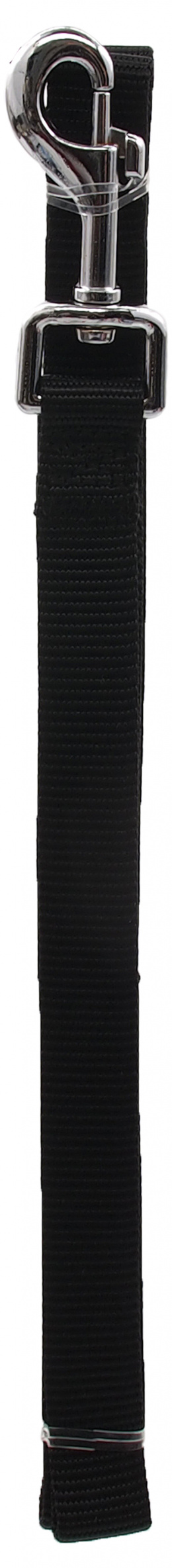 Поводок – Dog Fantasy Classic Neilona M, 20 мм, 120 см, цвет - черный