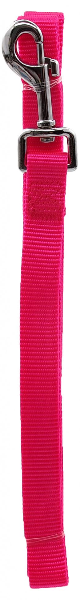 Pavada – Dog Fantasy Classic Neilona M, 20 mm, 120 cm, krāsa – rozā