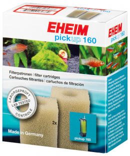 Материал для фильтра - EHEIM filter cartridge for pickup 160, 2pcs