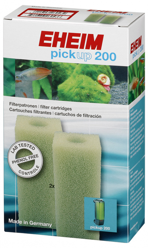 Материал для фильтра - EHEIM filter cartridge for pickup 200, 2 pcs title=
