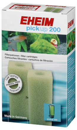 Материал для фильтра - EHEIM filter cartridge for pickup 200, 2 pcs