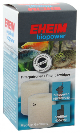 Материал для фильтра - EHEIM filter cartridge for aquaball 130/180, 2 pcs