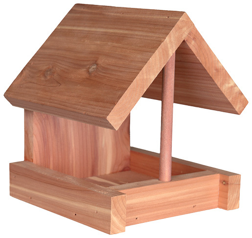 Кормушка для уличных птиц - Bird Feeder for wall mounting
