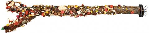 Gardums putniem - TRIXIE Perch avec seeds and fruits, 35 cm/ 18 mm