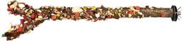 Лакомство для птиц - TRIXIE Perch avec seeds and fruits, 35 см/ 18мм