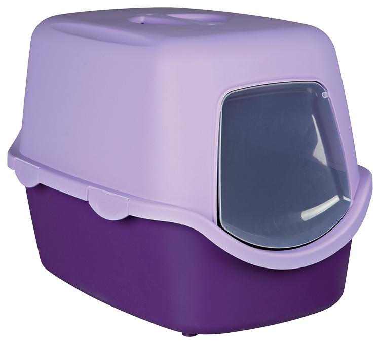 Туалет для кошек - Vico 40*40*56 фиолетовый/лиловый