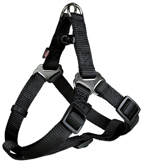 Шлейка для собак - Premium One Touch harness, XS–S: 30–40 cm/10 mm, черный title=