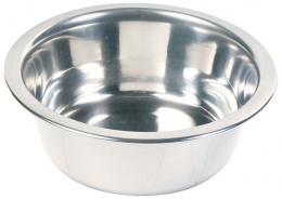 Мисочка для животных - Trixie, cтальная миска, 0.2 l/10 cm