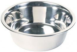 Миска для собак - Trixie cтальная миска, 1,8 l/20 cm