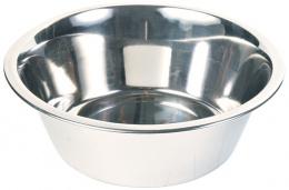 Bļoda suņiem – TRIXIE Stainless Steel Bowl, 2,8 l/24 cm