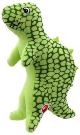 Игрушка для собак - Let's Play динозавр, зелёный, 25 см
