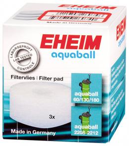 Filtru materiāls - EHEIM fine filter pad for aquaball 60/130/180, 3 pcs