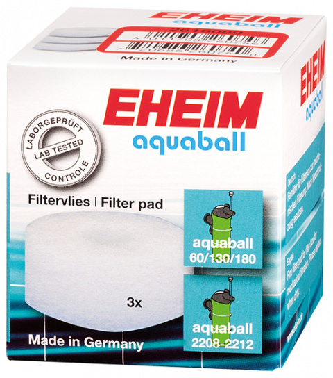Материал для фильтра - EHEIM fine filter pad for aquaball 60/130/180, 3 pcs