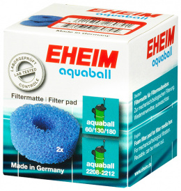 Filtru materiāls - EHEIM coarse filter pad for aquaball 60/130/180, 2 pcs