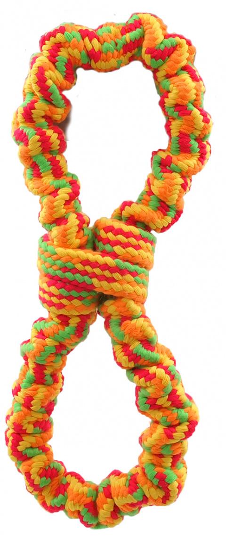 Игрушка для собак - Dog Fantasy Good's Ropes eight, 25 см title=