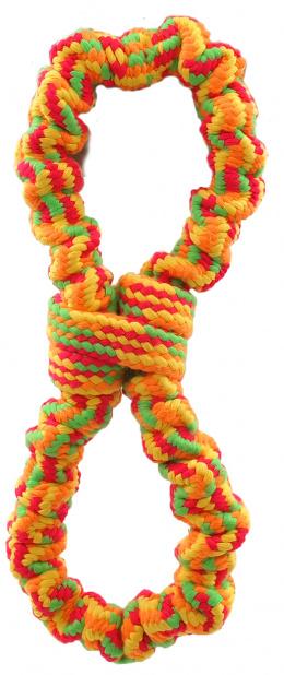 Rotaļlieta suņiem - Dog Fantasy Good's Ropes eight, 25 cm