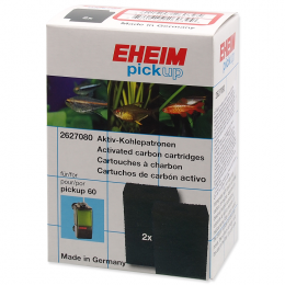 Filtru materiāls - EHEIM carbon cartridge for pickup 60, 2pcs