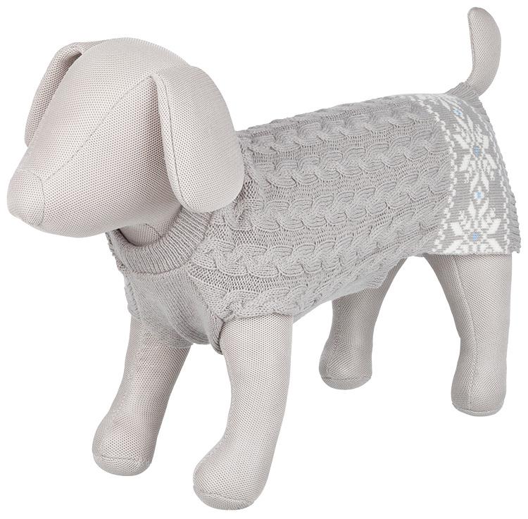 Džemperis suņiem - Trixie Granby pullover, S, 40 cm, pelēks