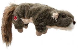 Игрушка для собак – Dog Fantasy Good's Skinneeez Stretch and Sgueak Squirrel, 45 см