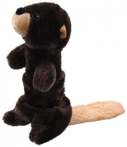 Игрушка для собак – Dog Fantasy Good's Skinneeez Stretch and Sgueak Plush Beaver, 45 см