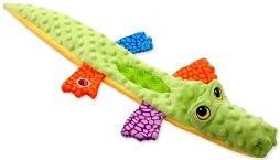 Rotaļlieta suņiem - Let's Play krokodils, zaļs, 114cm