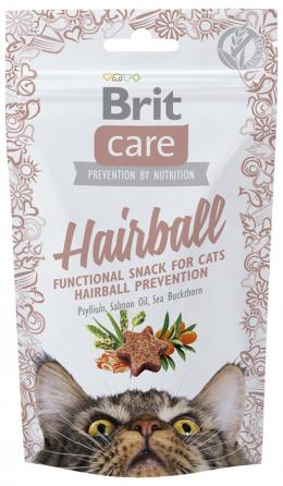 Gardums kaķiem - Brit Care Cat Snack Hairball, 50 g