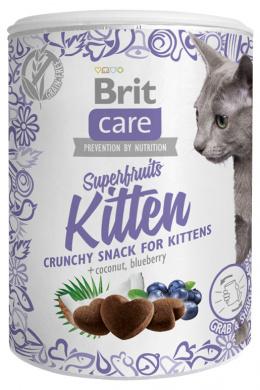 Gardums kaķēniem - Brit Care Cat Snack Superfruits Kitten, 100 g