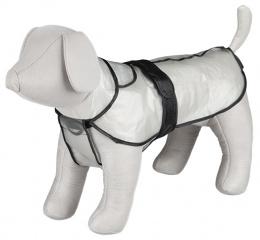 Дождевик для собак - TRIXIE Tarbes raincoat,S, 34 см, Прозрачный плащ