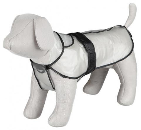 Lietus mētelis suņiem - TRIXIE Tarbes raincoat, L, 55 cm, Caurspīdīgs
