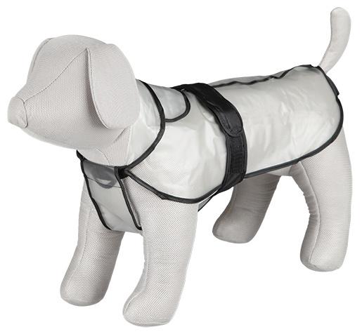 Дождевик для собак - TRIXIE Tarbes raincoat,  L, 60 см, Прозрачный плащ