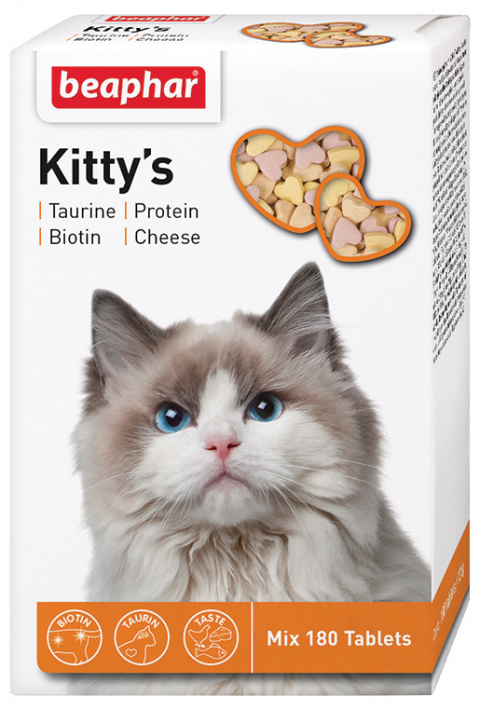 Лакомство для кошек - Kitty's Mix, 180 таб.