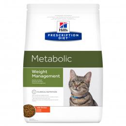 Veterinārā barība kaķiem - Hill's Feline Metabolic, 4 kg