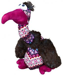 Игрушка для собак - Rotaļlieta suņiem - Trixie Vulture Elfriede, plush/fabric, птица, 28 cм
